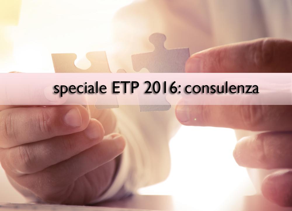 Speciale Etp 2016: Etf e consulenti