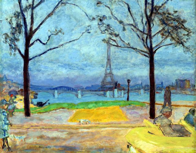 Pierre Bonnard (1867–1947). Il Pont de Grenelle e la Tour Eiffel (The Pont de Grenelle and the Eiffel Tower), ca. 1912. Olio su tela, 54,6x68,6 cm. Virginia Museum of Fine Arts, Collection of Mr. and Mrs. Paul Mellon