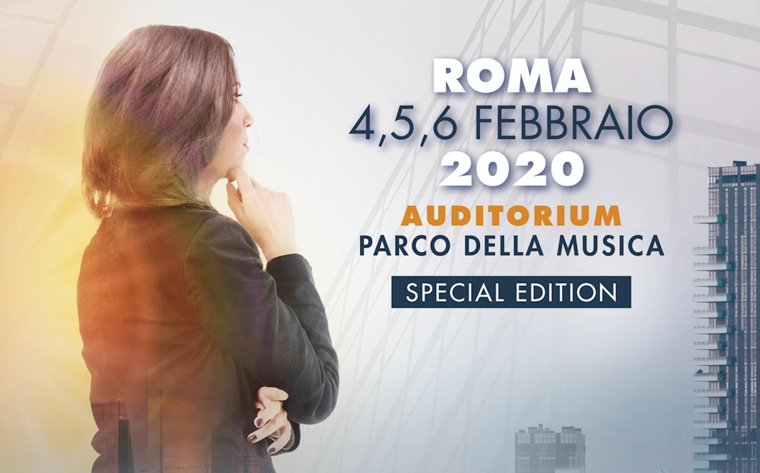 ConsulenTia20 al via, attesi oltre 3mila partecipanti all'Auditorium di Roma