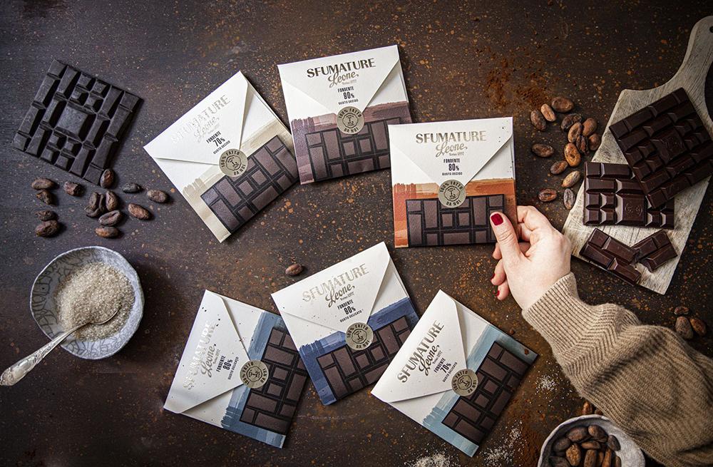 Sfumature: la nuova linea di cioccolato fondente Leone