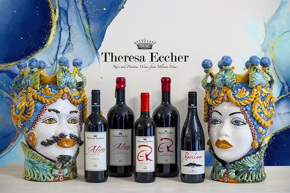 Theresa Eccher, i preziosi frutti del Vulcano Etna
