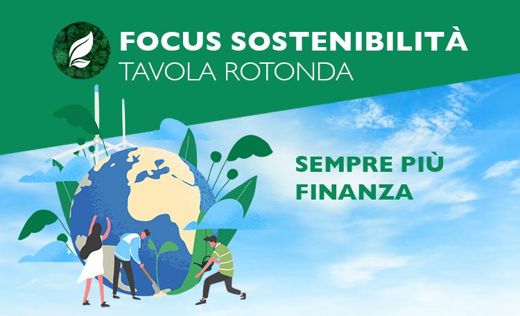 Focus Sostenibilità: Sempre più finanza