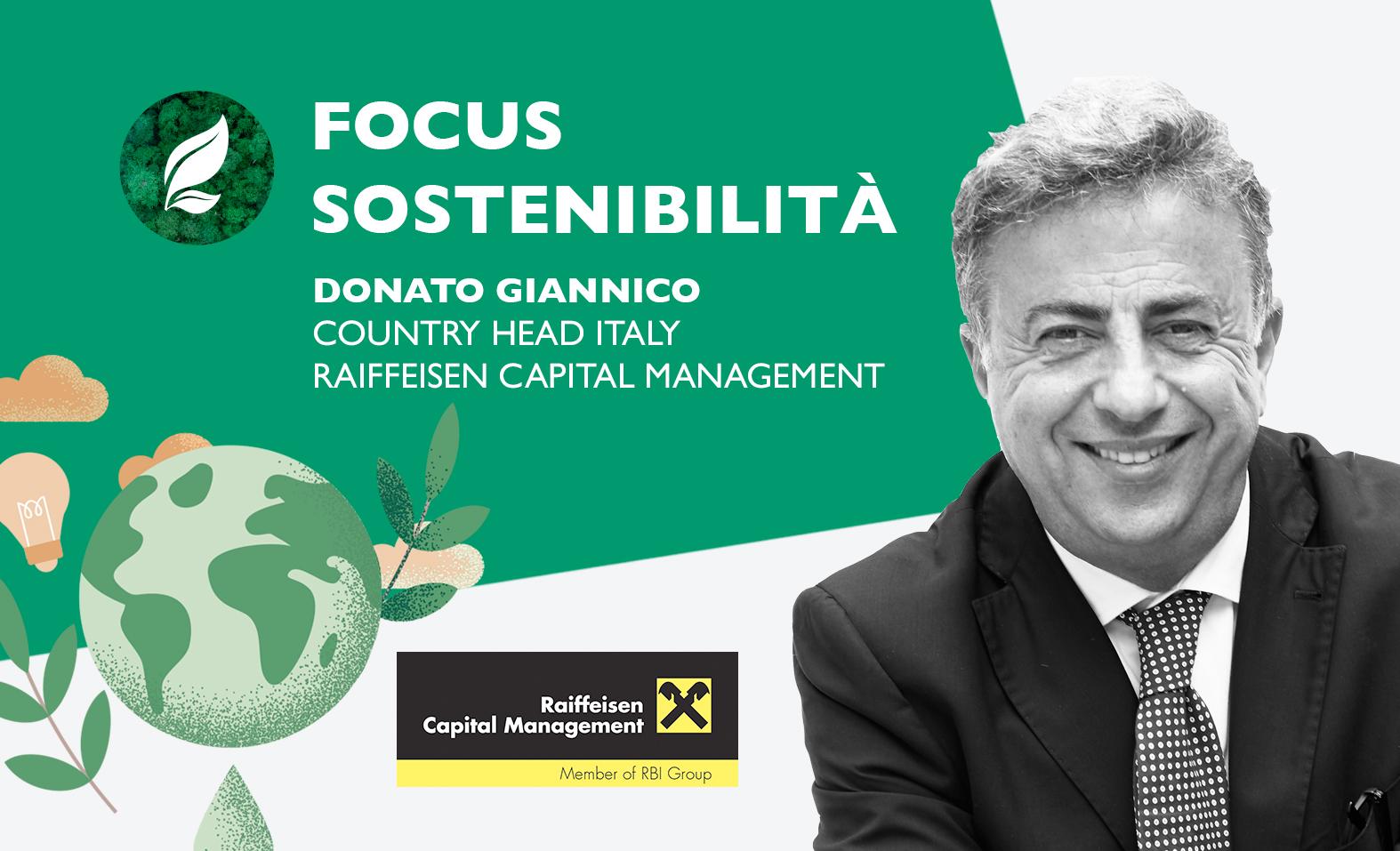 """Raiffeisen: """"Sempre più sostenibili"""""""